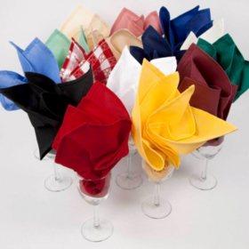 Riegel Cloth Napkins - Various Colors - 24 ct.