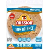 Mission Carb Balance Burrito Whole Wheat Tortillas (8 ct., 20 oz.)