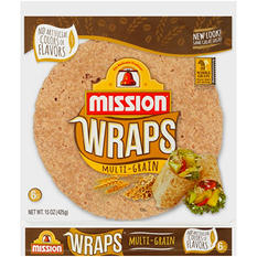 Mission Multi-Grain Plus Wraps (6 ct .)
