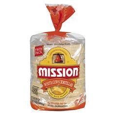 Mission® White Corn Tortillas - 100 ct.