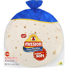 Mission Large Burrito Flour Tortillas (15 ct., 2 pk.)
