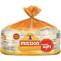 Mission White Corn Tortillas (110 ct., 6.3 lbs.)