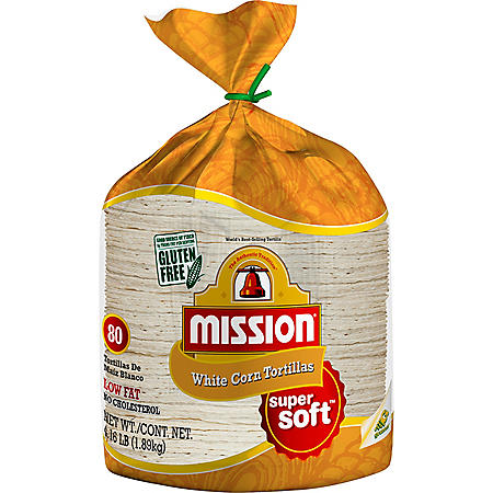Mission White Corn Tortillas (66.67oz)