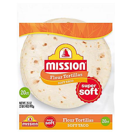 Mission Medium Soft Taco Flour Tortillas (35oz)