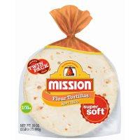 "Mission 8"" Soft Taco Flour Tortillas, Twin Pack (10 ct., 2 pk.)"