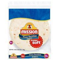 Mission Large Burrito Flour Tortillas (40oz)