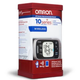 Omron 10 Series Wireless Wrist Blood Pressure Monitor with Bluetooth Smart Connectivity