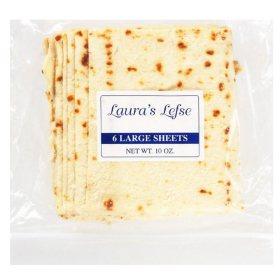 Laura's Lefse Large Sheet Flatbread (6 ct.)
