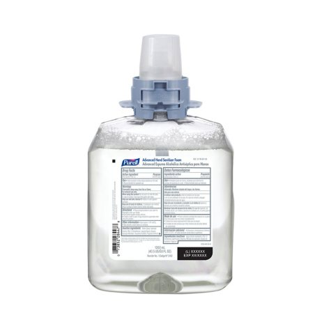Purell Advanced FMX-12 Foam Instant Hand Sanitizer with Moisturizer Refill - 1200ml