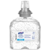(Pack of 4) PURELL Advanced Hand Sanitizer Gel, 1200 mL Sanitizer Refill for PURELL TFX Touch-Free Dispenser - 5456-04