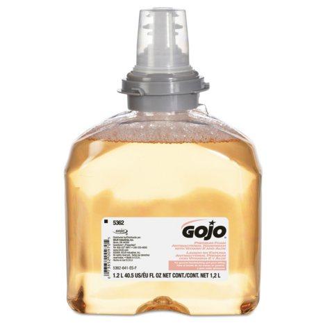 Gojo TFX Premium Foam Antibacterial Hand Wash - 1200mL - 2 pack