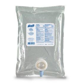 PURELL NXT Advanced Hand Sanitizer Gel, 1000 mL Hand Sanitizer Gel Refill for PURELL NXT Push-Style SPACE SAVER Dispenser - 2156-08