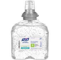 Purell - TFX Green Certified Instant Hand Sanitizer Gel Refill, 1200-ml - Clear