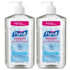Purell Advanced Instant Hand Sanitizer (20 oz. pump, 2 pk.)