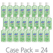 Purell Instant Hand Sanitizer with Aloe, Flip-Cap Bottles (4 oz, 24 pk.)