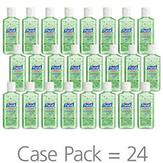 Purell Instant Hand Sanitizer with Aloe Flip-Cap Bottles - 4 oz. - 24 pk.