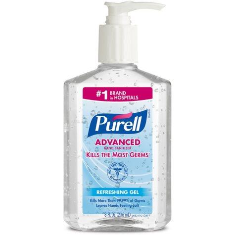 GOJO Purell Instant Hand Sanitizer (8 oz.)