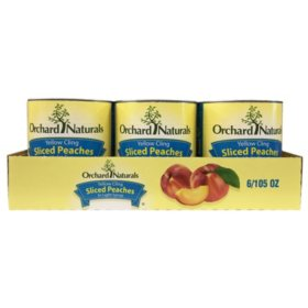 Orchard Naturals Yellow Cling Sliced Peaches in Light Syrup (106 oz.)