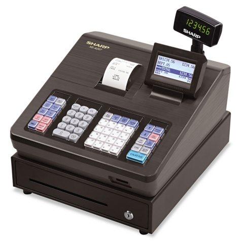 Sharp XE-A207 Cash Register - 2500 LookUps - 99 Dept. - 25 Clerks