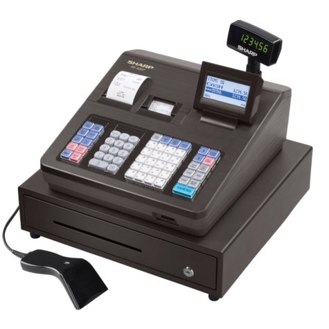 Sharp  XE-A507 Cash Register with Hand Scanner