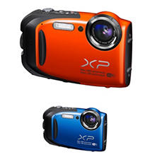 *$159.88 after $20 Tech Savings* FUJIFILM FinePix XP70 16.4MP CMOS Waterproof Camera with 5x Optical Zoom - Various Colors