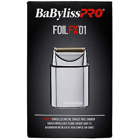 BaBylissPRO FOILFX01 Cordless Metal Single Foil Shaver