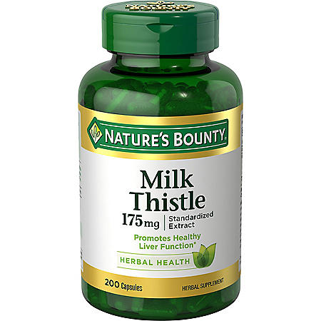 Nature's Bounty Milk Thistle 175mg, (200 ct.)