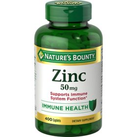 Nature's Bounty Zinc 50mg (400 ct.)