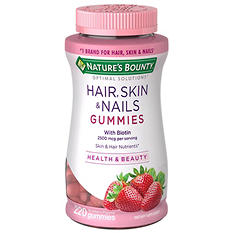 Nature's Bounty Hair, Skin & Nails Gummies (220 ct.)