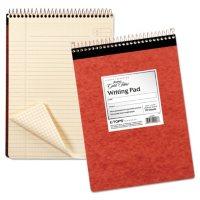 Ampad - Gold Fibre Retro Pad - Wide Rule - 8-1/2 x 11-3/4 - Ivory - 70-Sheets/Pad