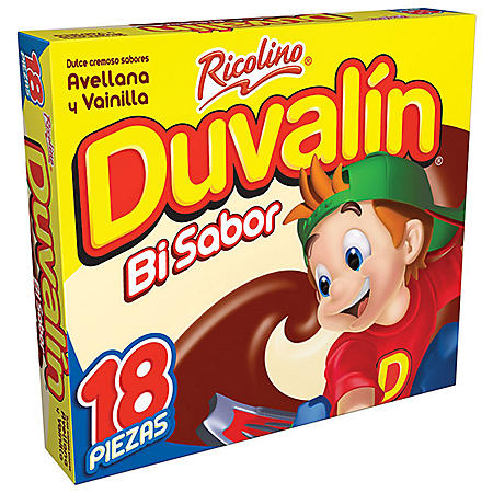 Ricolino Duvalin Hazelnut and Vanilla Candy (18 ct.)
