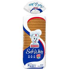 Bimbo Soft White Family Bread (20 oz. loaf, 2 pk.)