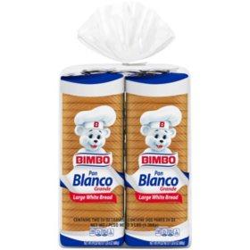 Bimbo White Sandwich Bread (24 oz., 2 pk.)