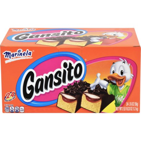 Marinela® Gansito Snack Cakes - 24 pk.