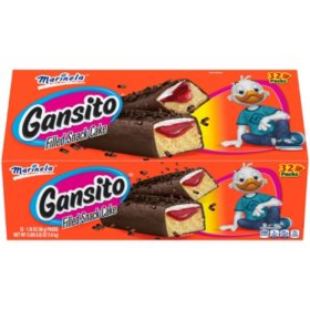 Marinela Gansito Snack Cakes (1.76oz / 32pk)