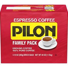 Cafe Pilon Ground Coffee (10 oz., 4 pk.)