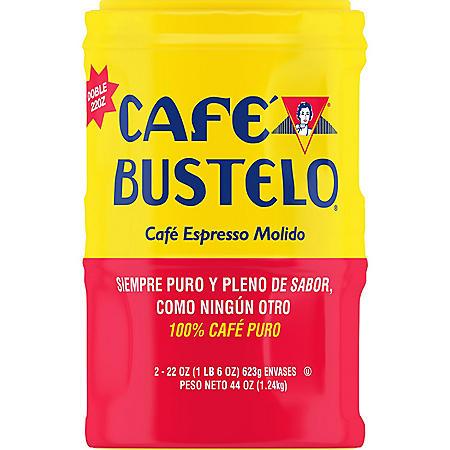 Cafe Bustelo Espresso Ground Coffee, Dark Roast (22 oz., 2 pk.)