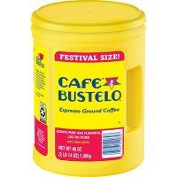 Café Bustelo Festival Size Dark Roast Ground Coffee, Espresso (46 oz.)