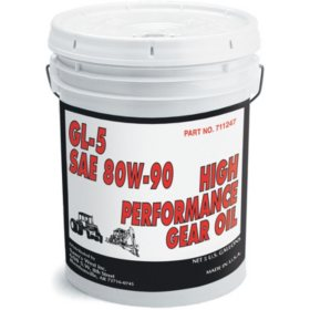 Certified 80/90 Gear Oil - 35 LB Bucket
