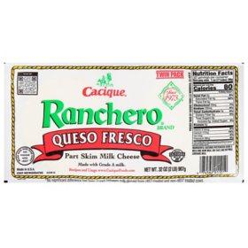 Cacique Ranchero Queso Fresco (16 oz. ea., 2 pk.)