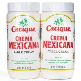 Cacique Crema Mexicana Table Cream (2 pk.)