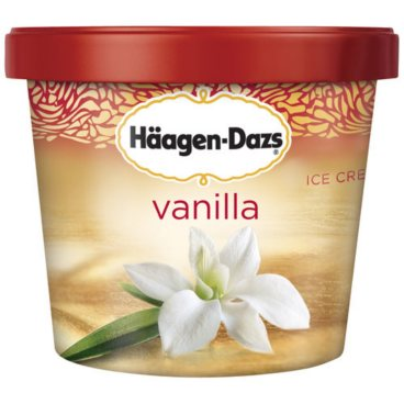 Haagen-Dazs Vanilla Ice Cream Cups (3.6 oz., 12 ct.)