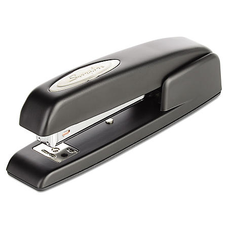 Swingline - 747 Business Full Strip Desk Stapler, 20-Sheet Capacity -  Black