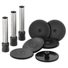 Swingline - Replacement Punch Kit for Extra High-Capacity Three-Hole Punch -  9/32 Diameter