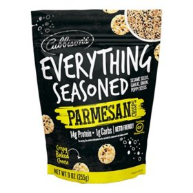 Cubbison's Everything Seasoned Cheese Crisps (9 oz.)