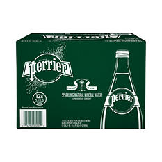 Perrier Sparkling Natural Mineral Water (25.3 oz., 12 pk.)