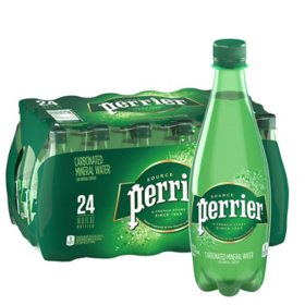 Perrier Sparkling Natural Mineral Water (16.9oz / 24pk)