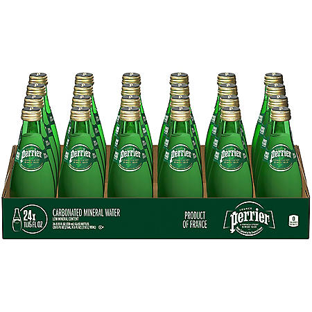 Perrier Sparkling Natural Mineral Water (11.15 fl. oz., 24 pk.)