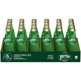 Perrier Sparkling Natural Mineral Water (11.15 oz. bottles, 24 ct.)
