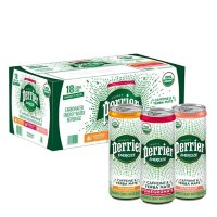 Perrier Energize Flavored Carbonated Energy Water Beverage Variety Pack (11.15 fl. oz., 18 pk.)